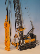 BYMO BAUER Cable Crane MC96 with Trench Cutter BC35 and HTS